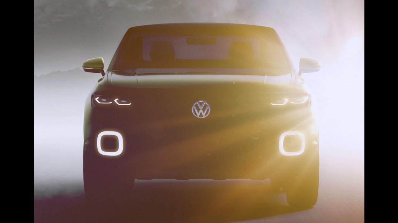 Volkswagen começa a revelar inédito SUV compacto que estará em Genebra