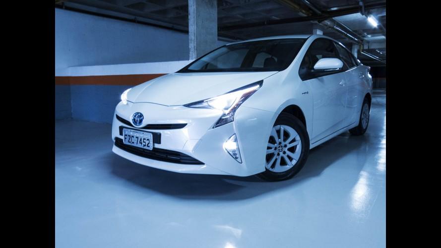 Toyota faz recall de três unidades do Prius no Brasil por problema no airbag