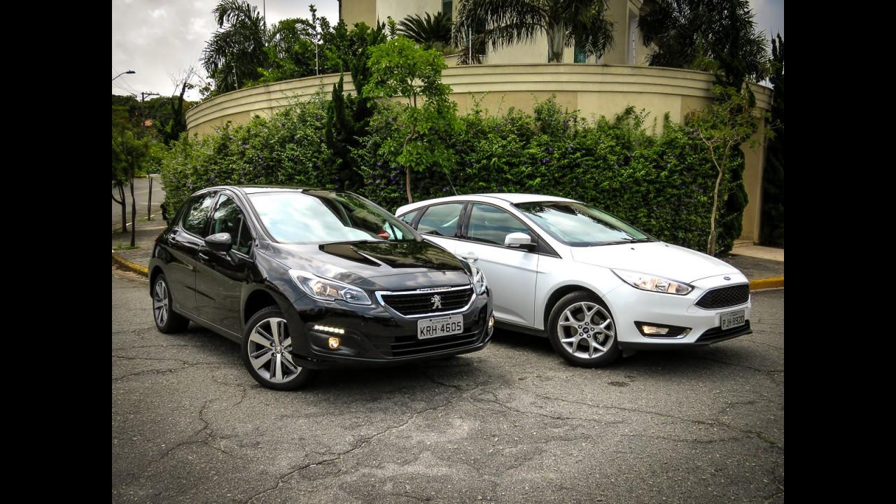 Teste CARPLACE: renovado, Peugeot 308 1.6 turbo mede ...