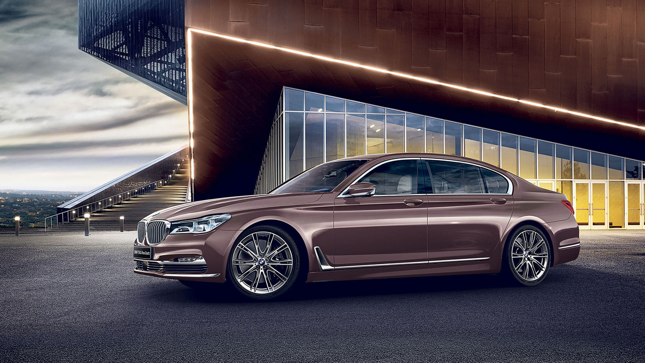 BMW 750Li Rose Quartz
