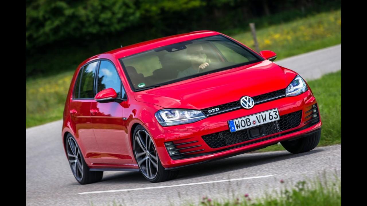 Alemanha: Golf lidera vendas com folga e Classe C cresce quase 80%
