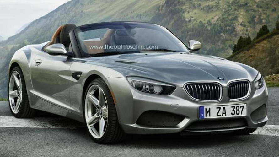 2016/2017 BMW Z2 speculatively rendered