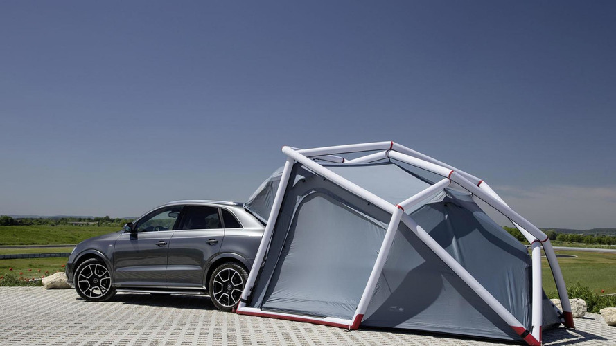Audi Q3 Camping Tent 2014