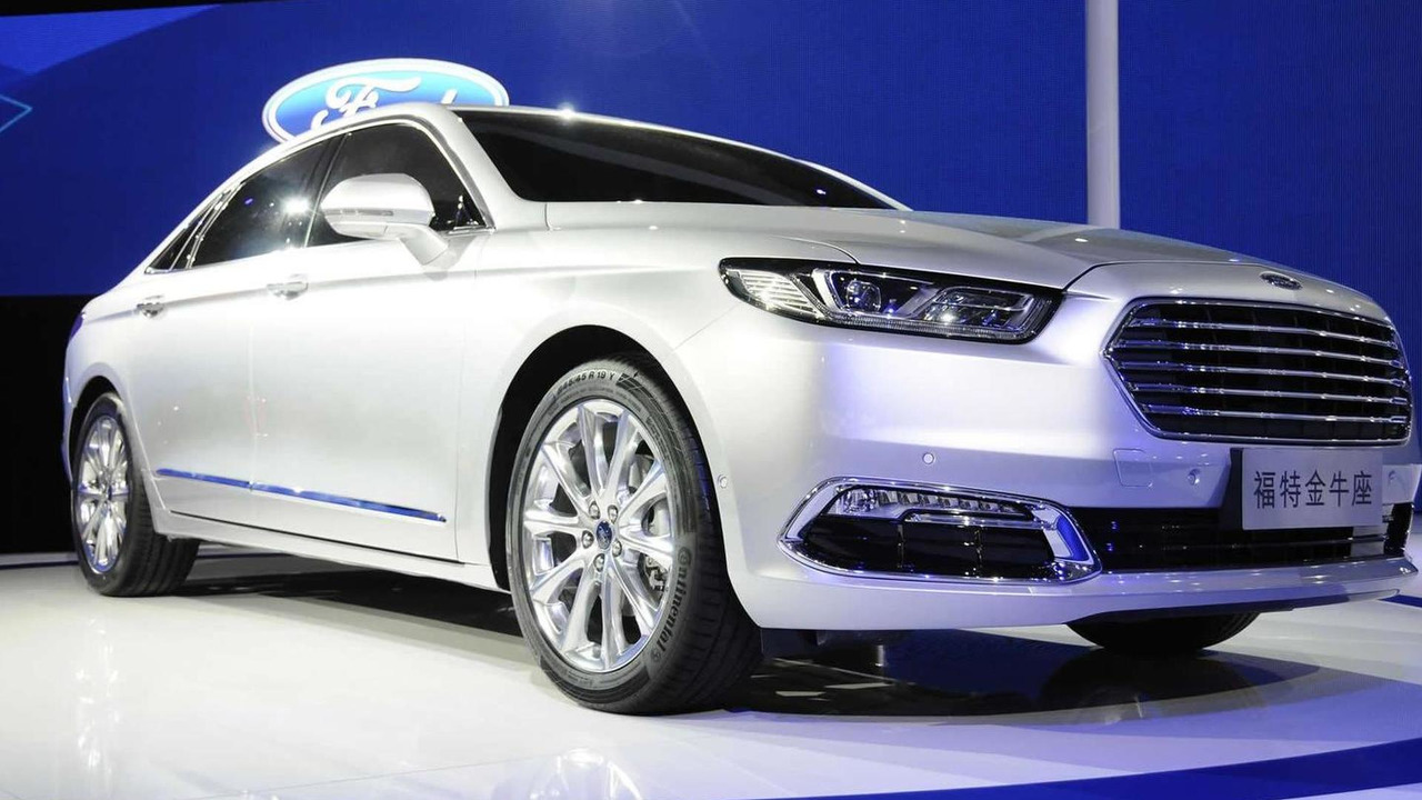 2016 Ford Taurus (CN-spec) at Auto Shanghai 2015