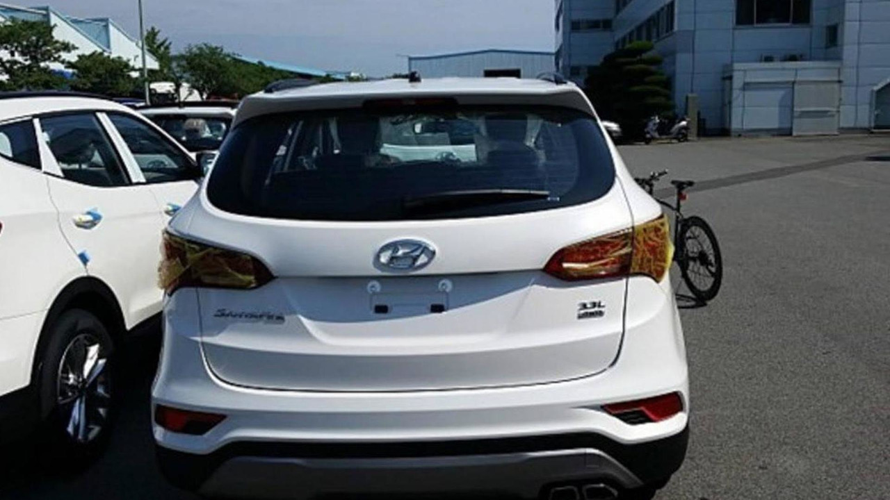 Hyundai Santa Fe facelift spy photo / Terranismo