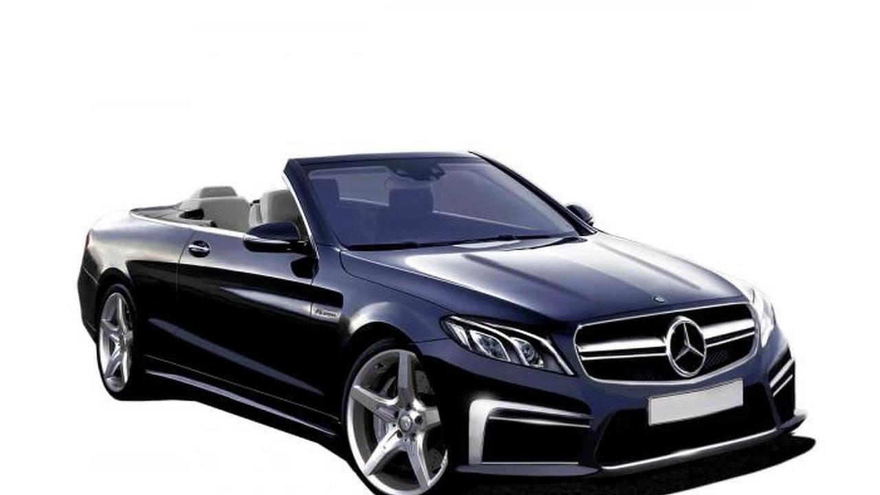 Next generation Mercedes-Benz E-Class Convertible render