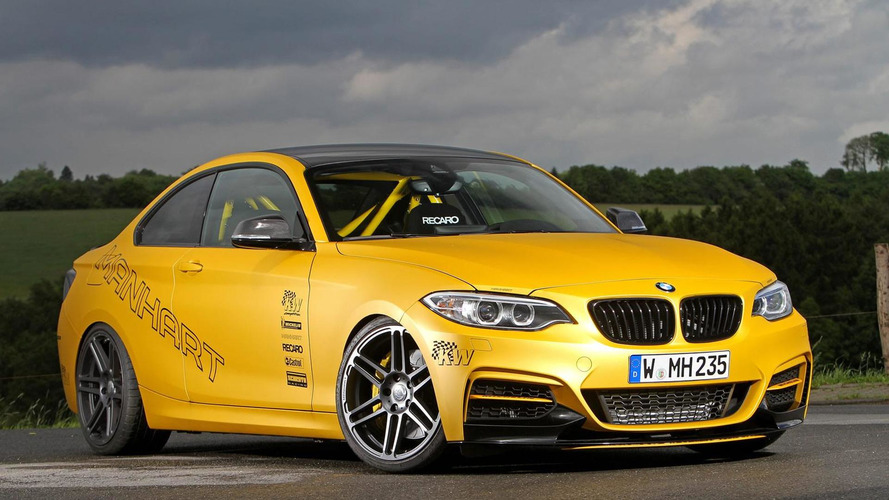 Manhart turns BMW M235i into a track tool