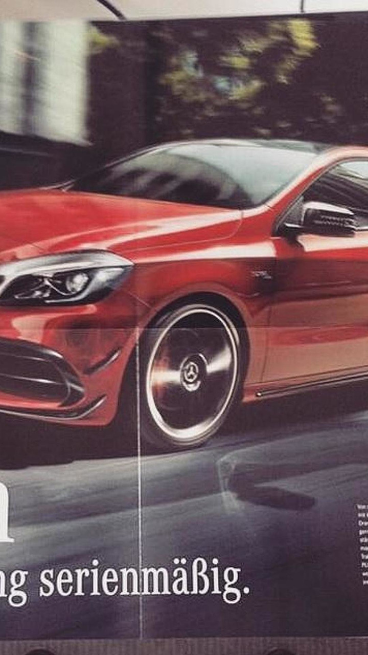 Mercedes-Benz A45 AMG facelift (not confirmed)