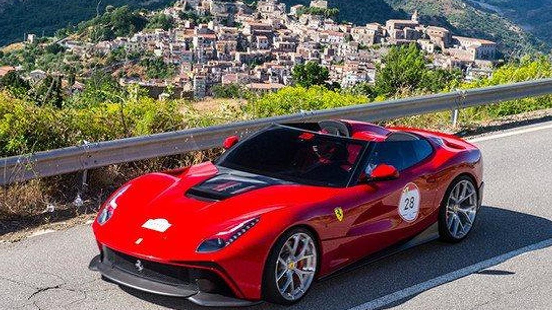 Us Only Ferrari Limited Edition Could Be An F12 Nart Spyder