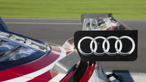 Audi R8 GRAND-AM testing at Daytona