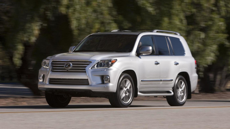 Lexus LX could get a diesel engine - report