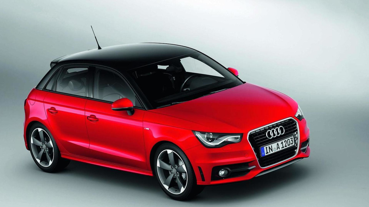 2012 audi a1 sportback with s line revealed video. Black Bedroom Furniture Sets. Home Design Ideas