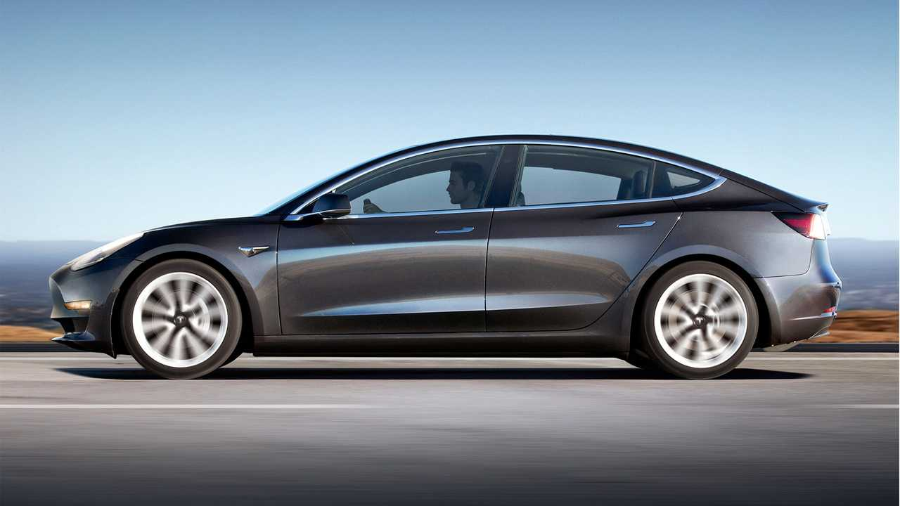 The Tesla Model 3 is faster, prettier, and goes further.