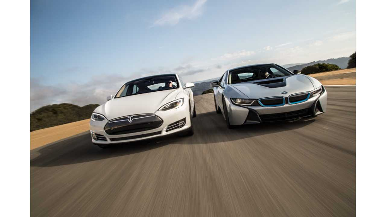 BMW To Buy Stake In Tesla?