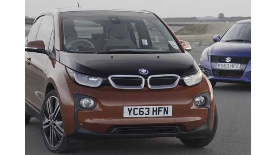 BMW i3 Versus Suzuki Swift - Track Test Video