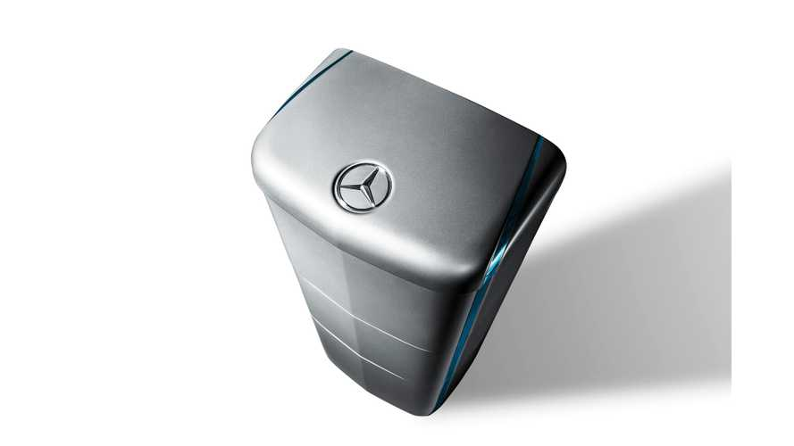 Mercedes Energy Storage Solutions Power Into UK