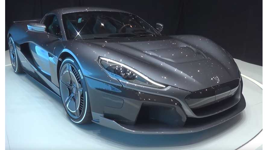 Rimac C_Two Debuts With 120-kWh Battery, 0-60 In 1.85 Seconds - Video