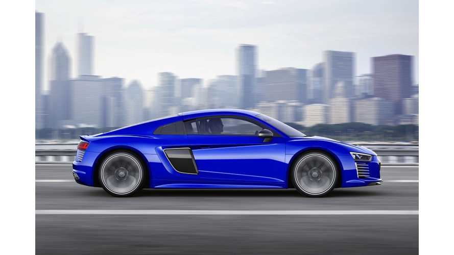 Audi Sport Preps For Launch Of Performance EV In 2020