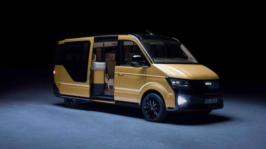 VW Subsidiary Unveils 6-Seat Electric Shuttle Van With 186-Mile Range