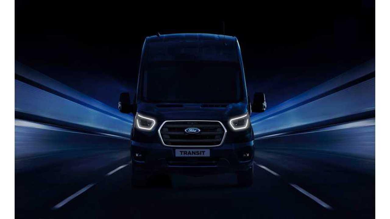 Ford Reveal Details On New Plug-In Hybrid Transit Van