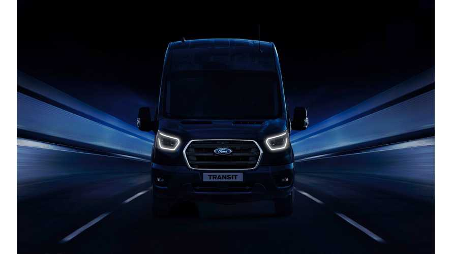 Ford Reveal Details On New Plug-In Hybrid Transit Van