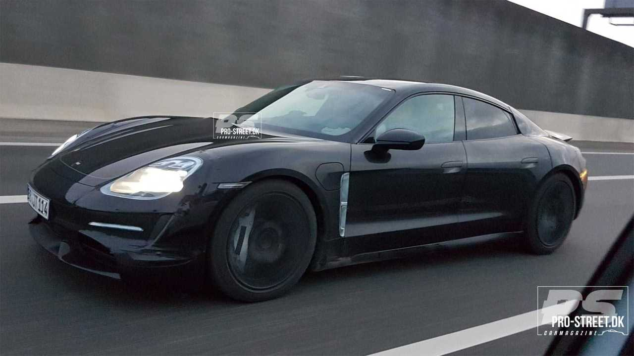 Porsche Taycan Spied Looking Sleek In Copenhagen