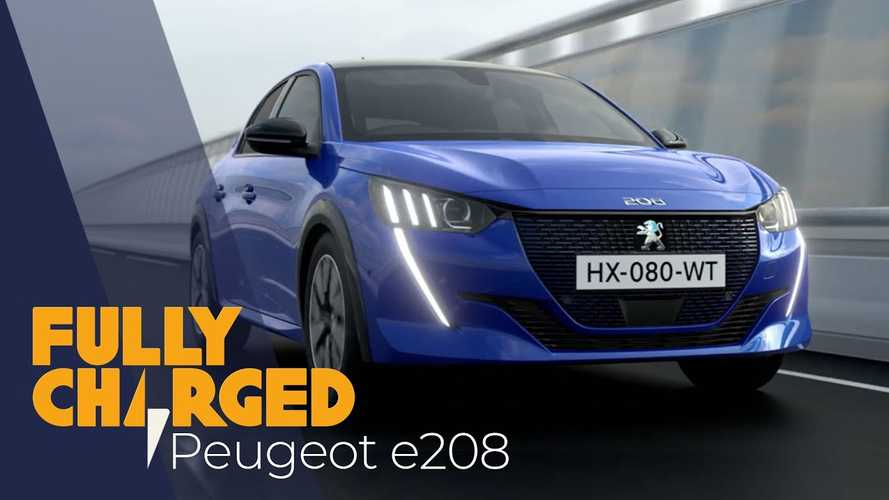 Peugeot e-208 Featured By Fully Charged: Video