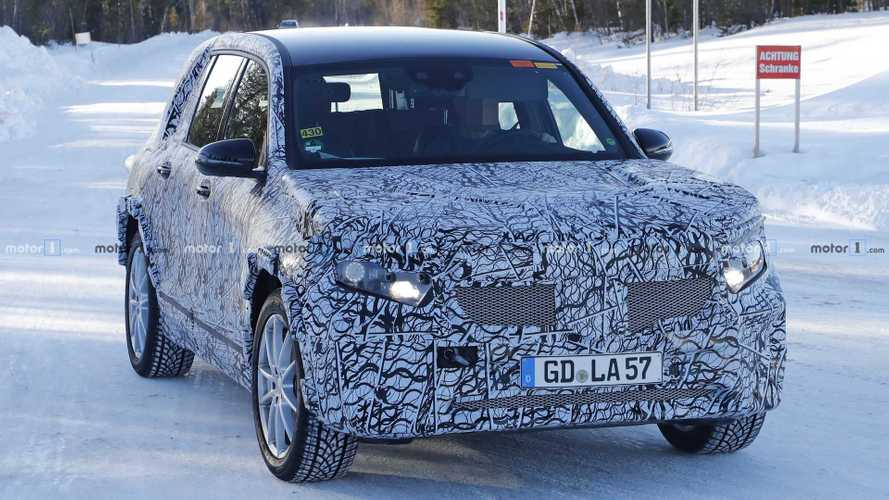 Mercedes GLB Electric Spied: Is This The Upcoming EQ B?