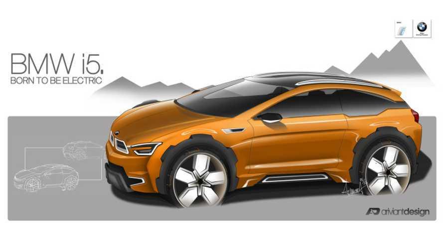 BMW i5 To Be Hydrogen Powered?