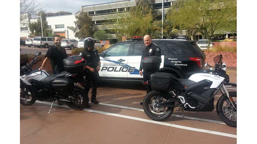 Zero Police Models Hit the Streets of Burbank