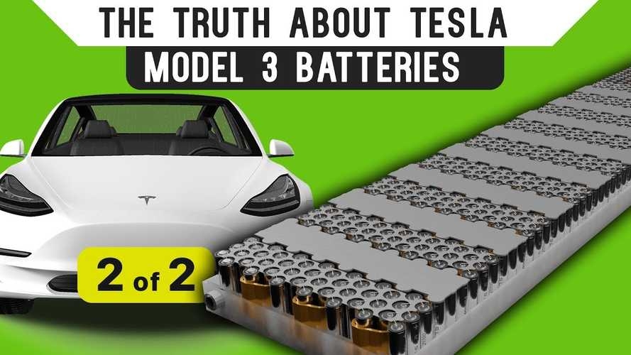 More Tesla Model 3 Battery Info Than You Knew You Wanted: Part 2