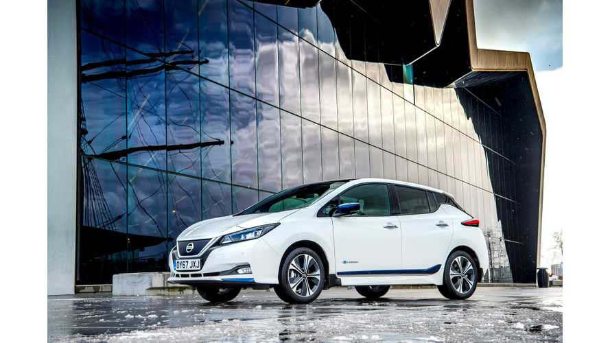 Nissan LEAF Outsells Pulsar ICE In UK By 2 To 1