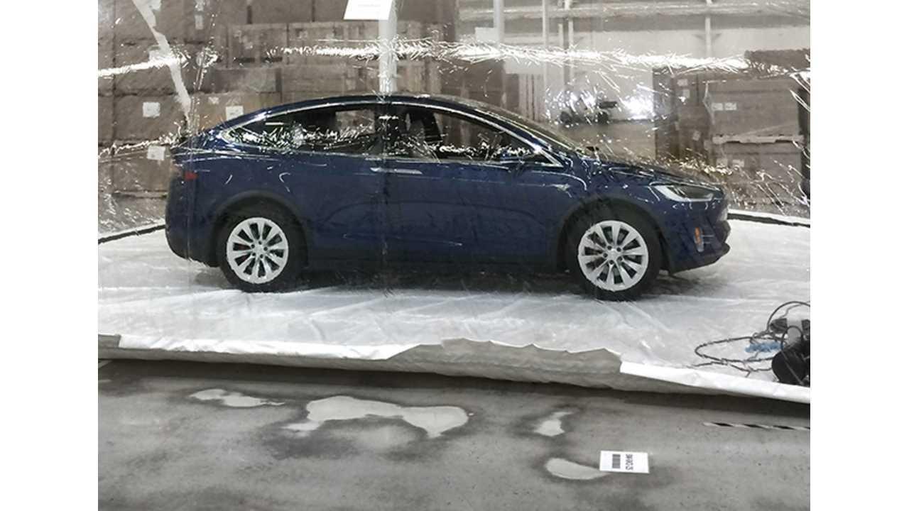 Model S & X Bioweapon Defense Mode Tested By Tesla