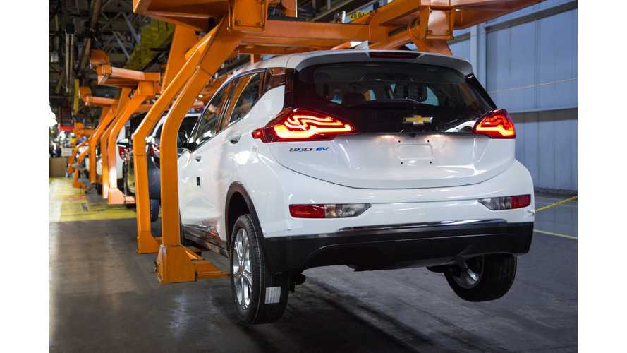 Chevrolet Bolt Start Of Production Set For October 2016?