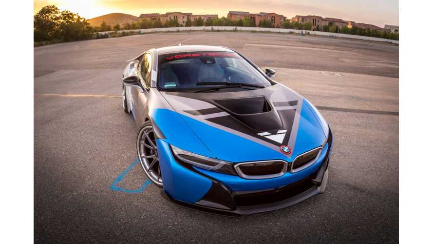 BMW i8 Aero Released By Vorsteiner