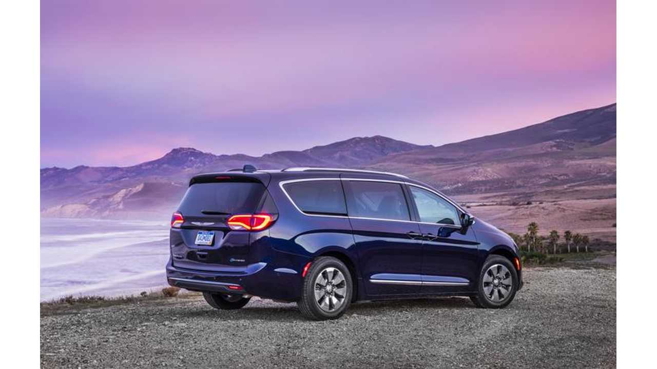 Google Planning Ride-Sharing Program With New Fleet Of Autonomous Chrysler Pacifica Plug-In Hybrids