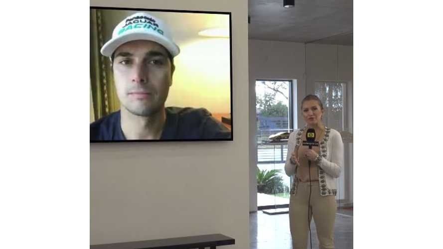 Nelson Piquet Jr. Interview On This Weekend's Chile Formula E Race - Video