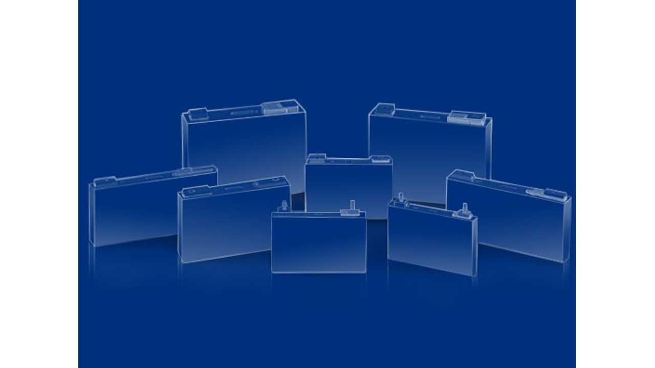 Samsung SDI battery cells