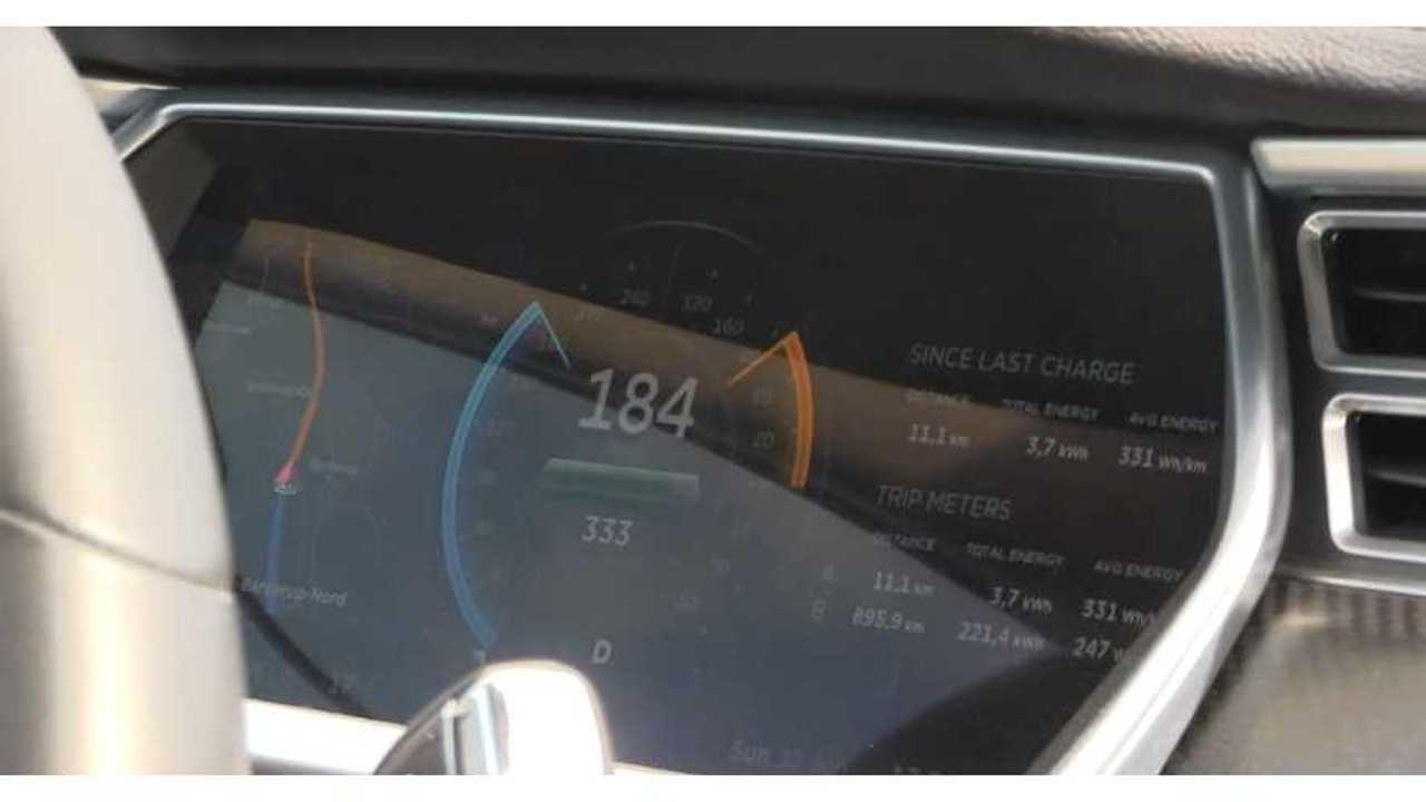 Tesla Model S Autobahn - Bjorn Nyland