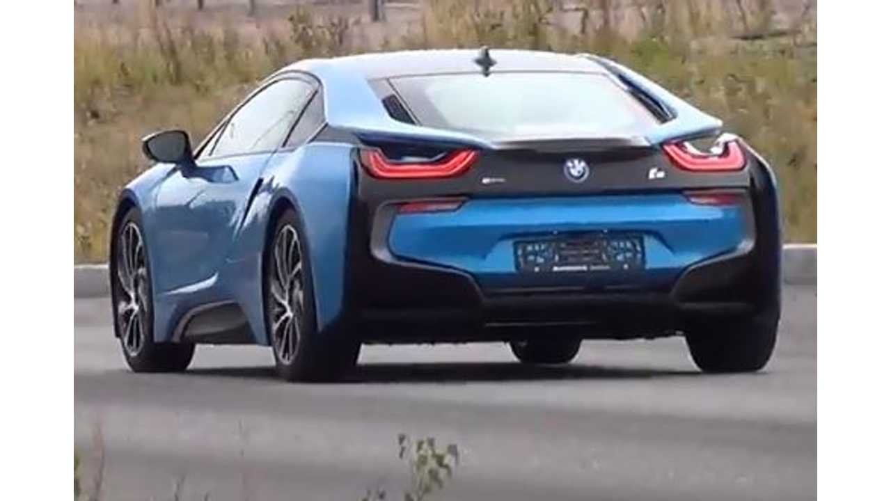 First BMW i8 Spotted In Finland - Video
