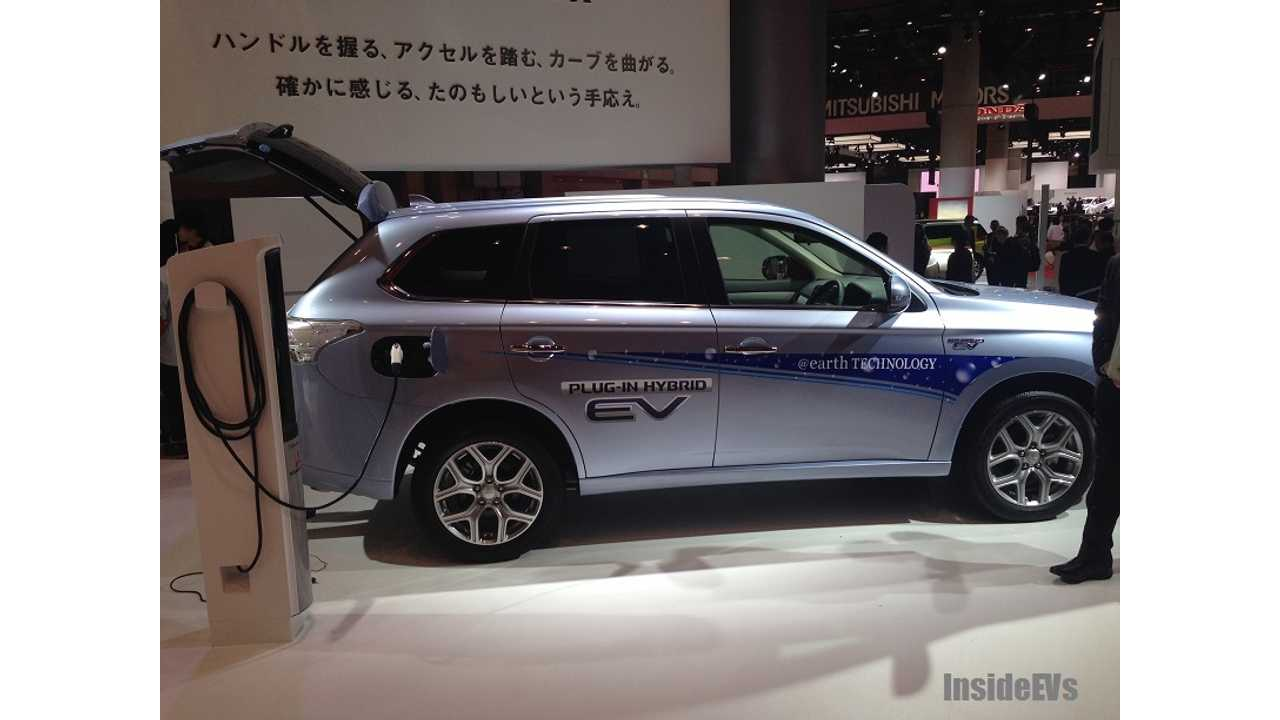 We Caught The Outlander PHEV Recently Ourselves At The Tokyo Motor Show