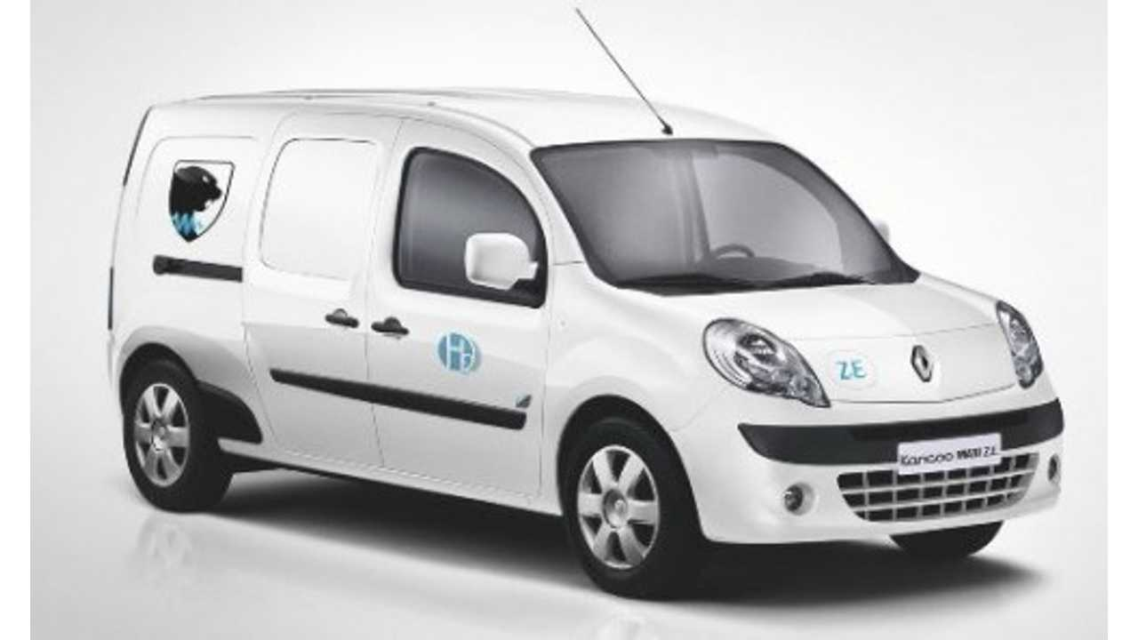 Fleet of 50 Kangoo Z.E. With Fuel Cells To Hit French Roads