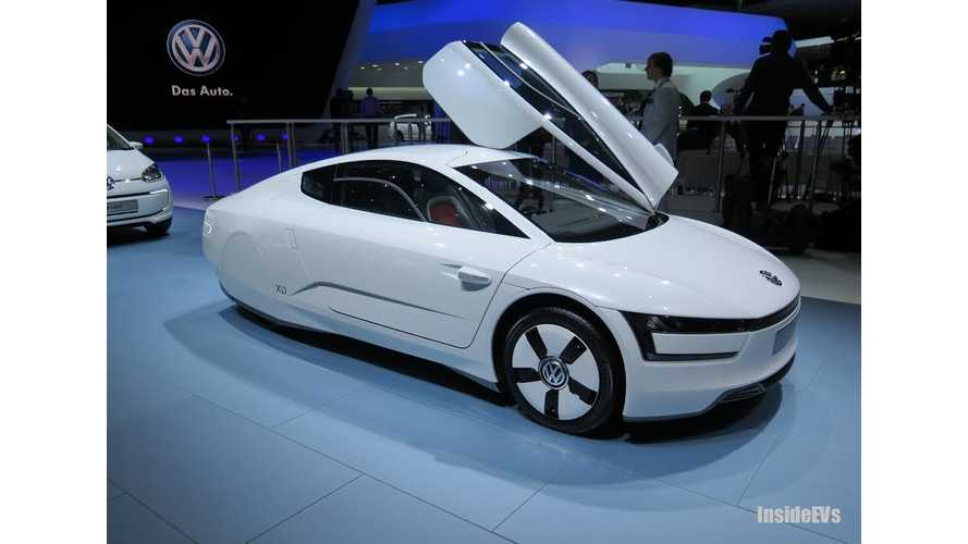 Volkswagen XL1 Priced From £98,515 In UK