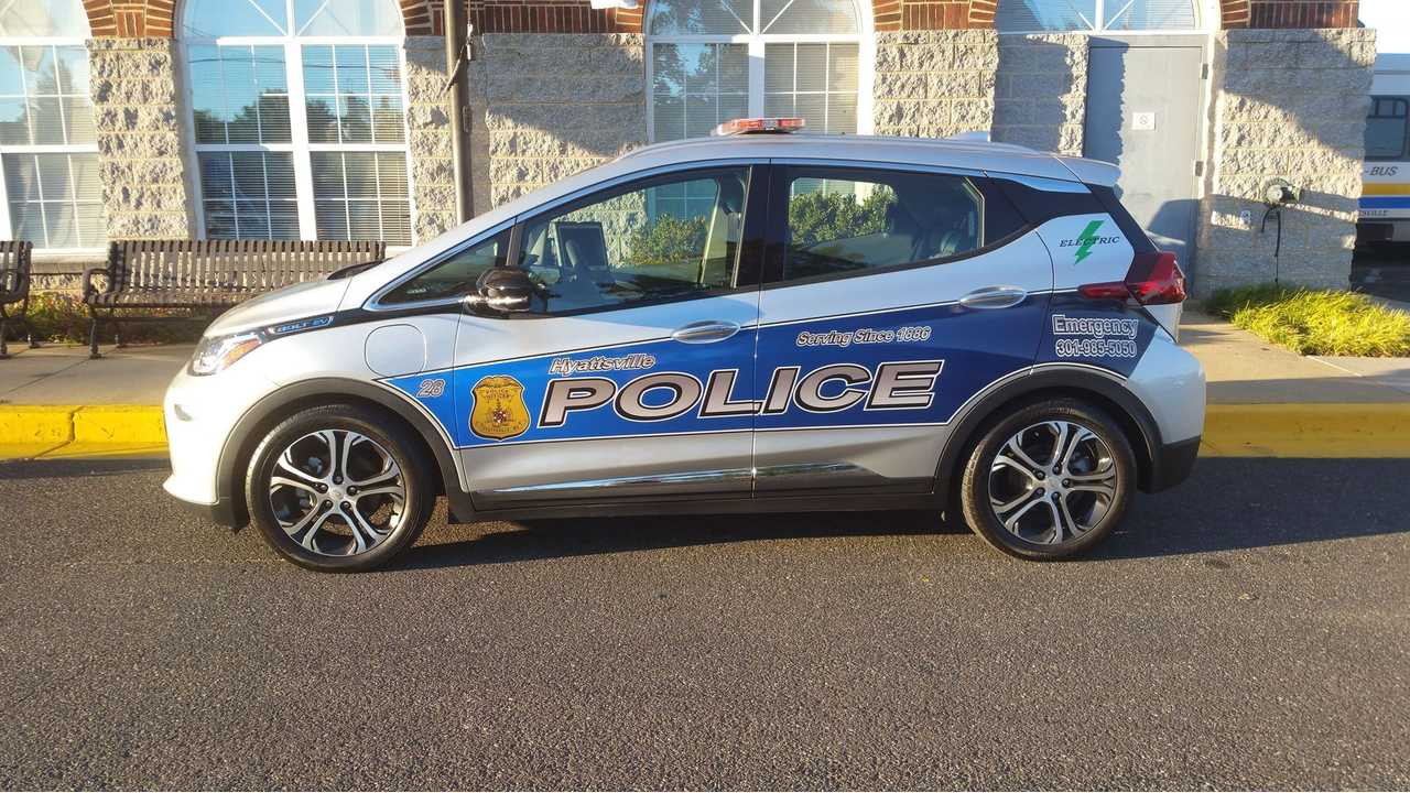 Chevy Bolt Police Car Makes Video Debut