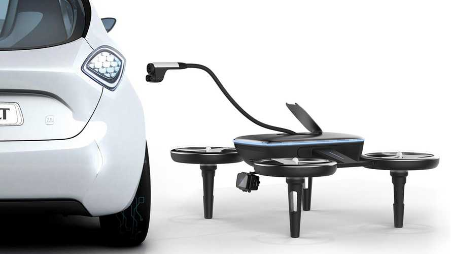 Volt Drone Flies To You To Charge Your Dead Electric Car