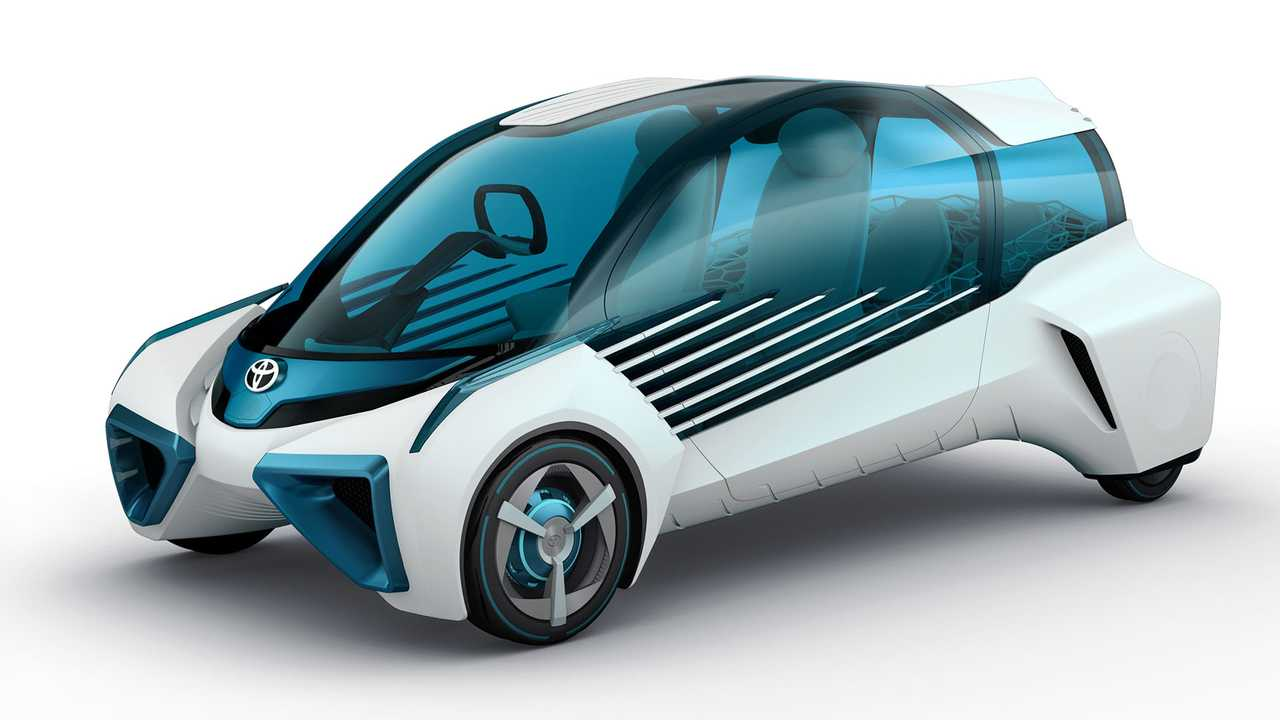 Toyota To Unveil FCV Plus At Tokyo Motor Show