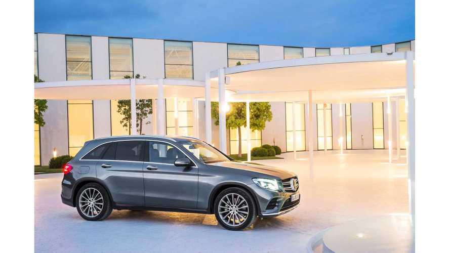 Mercedes-Benz Unveils GLC 350 e Plug-In Hybrid SUV