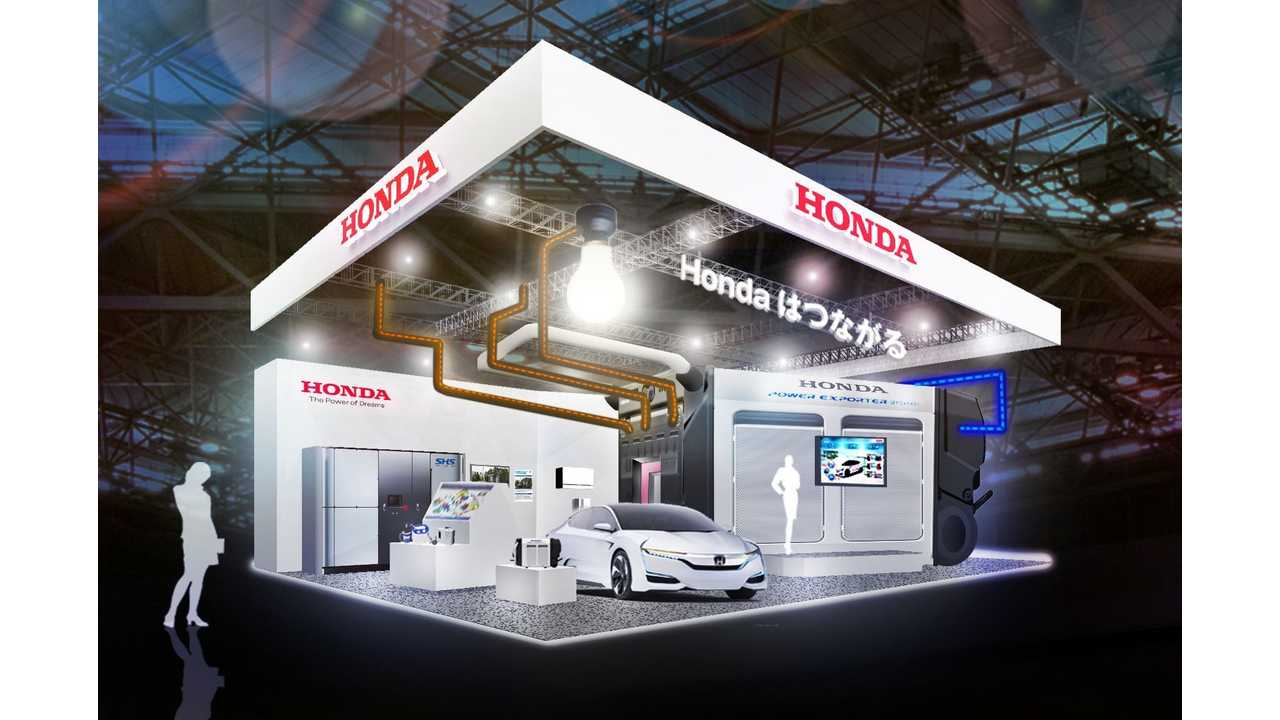 Honda Power Exporter 9000 At 2015 CEATEC Japan (w/videos)