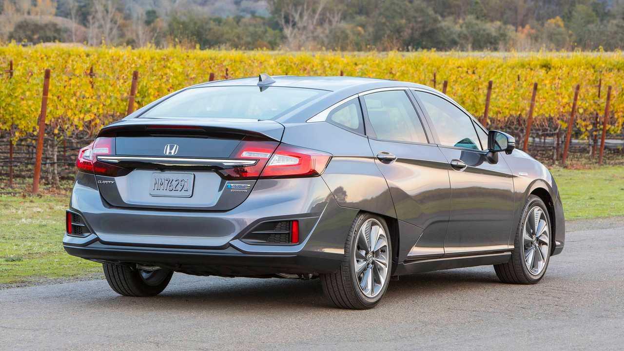 7) Honda Clarity Plug-in Hybrid