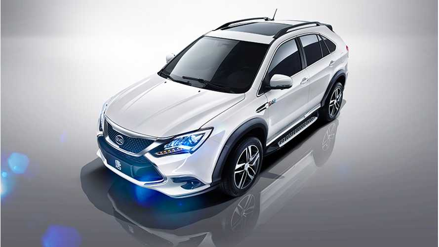 China Plug-In Electric Car Sales September 2015